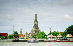 Stupa of Wat Arun Stock Photography