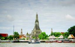 Stupa of Wat Arun Stock Photography