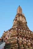 Stupa_Wat Arun de Banguecoque Fotografia de Stock