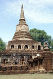 Stupa in wat Chang Lom Stock Photo