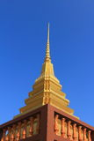 Stupa at Wat Chang Thong Royalty Free Stock Photo