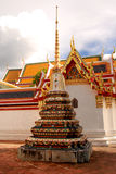 Stupa in Wat Pho Royalty-vrije Stock Afbeelding