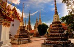 Stupa in Wat Pho Royalty-vrije Stock Foto