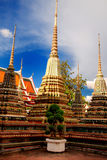 Stupa in Wat Pho Royalty Free Stock Images