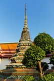 Stupa at Wat Pho, Bangkok Stock Photography