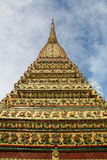 Stupa at Wat pho in Bangkok Royalty Free Stock Photography
