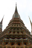 Stupa at Wat pho in Bangkok Thailand Royalty Free Stock Image