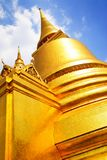 Stupa in Wat Phra Kaeo Royalty Free Stock Photo