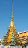 Stupa in Wat Phra Kaeo Stock Afbeelding