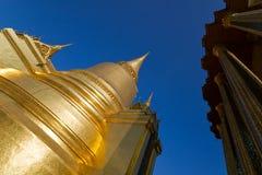 Stupa at Wat Phra Kaew, Bangkok, Thailand. Royalty Free Stock Photography