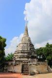 Stupa a Wat Phra Ngam Fotografia Stock Libera da Diritti