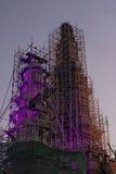Stupa Watarun寺庙 库存图片