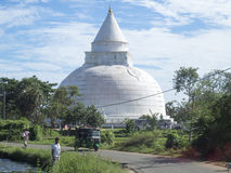 Stupa in Yala, Sri Lanka stock image