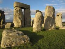 Stupad sten på Stonehenge Fotografering för Bildbyråer