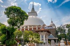 Stupaen av Kalutara Arkivbilder