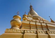 Stupamening van Kuthodaw-pagode, Mandalay, Myanmar royalty-vrije stock afbeelding