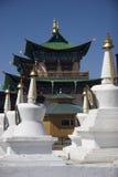 stupas寺庙 免版税图库摄影