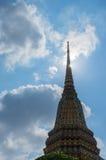 Stupas σε Wat Pho Kaew, Μπανγκόκ, Ταϊλάνδη Στοκ Φωτογραφίες