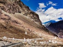 Stupas долины Nubra Стоковые Изображения