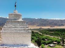 Stupas долины Nubra Стоковое Изображение RF