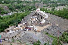 Stupas на монастыре Phyang, Ladakh, Индия Стоковая Фотография