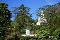 2 stupas около пика ` s Адама Стоковое Изображение RF
