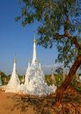Stupas Imagenes de archivo