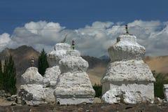 Stupas Fotografie Stock Libere da Diritti