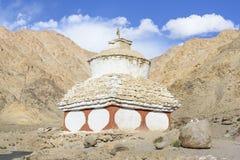 Stupas around Leh Ladakh,India. The old stupa around Leh Ladakh, India stock image