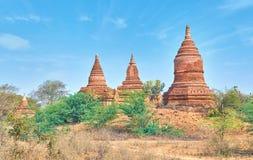 Stupas Bagan Стоковые Фотографии RF