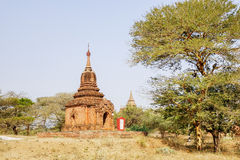 Stupas in Bagan, Myanmar Royalty Free Stock Photography