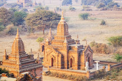 Stupas in Bagan, Myanmar Stock Photo