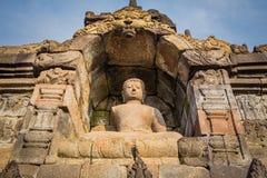 Stupas in Borobudur Temple, Indonesia Stock Image