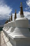 Stupas buddista Immagine Stock Libera da Diritti