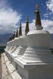 Stupas budista Imagen de archivo libre de regalías