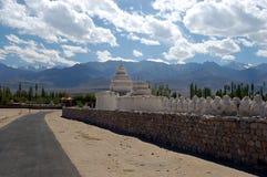 Stupas de Ladakh Fotos de Stock