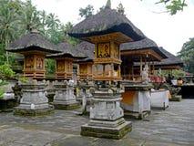 Stupas en el templo de Bali Fotografía de archivo