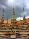 The stupas stock images