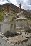 stupas ladakh Индии hemis gompa стоковые изображения rf