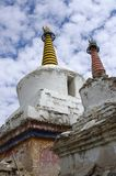 Stupas in Lamayuru in Ladakh, India Stock Image