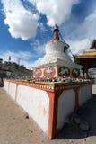 Stupas in Leh - Ladakh - India Stock Image