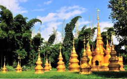 Stupas Stock Photos