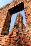Stupas pagoda, pagoda sculpture of Buddha at Wat Worachet Temple Stock Images