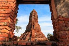 Stupas pagoda, pagoda sculpture of Buddha at Wat Worachet Temple Stock Photo