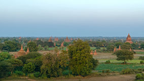 Stupas and pagodas of Bagan ancient. Stock Photos