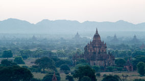 Stupas and pagodas of Bagan ancient Royalty Free Stock Images