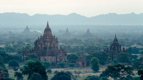 Stupas and pagodas of Bagan ancient. Stock Photo