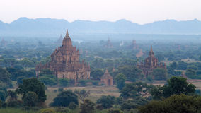 Stupas and pagodas of Bagan ancient. Stock Image