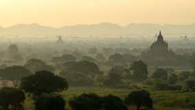 Stupas and pagodas of Bagan ancient. Royalty Free Stock Photos