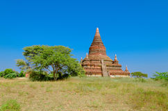 Stupas and pagodas of Bagan ancient. Myanmar Stock Images